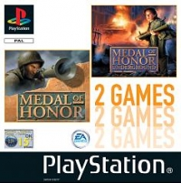 2 Games: Medal Of Honor / Medal Of Honor  Underground Box Art
