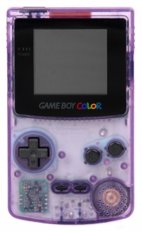Nintendo Game Boy Color - Atomic Purple [EU] Box Art