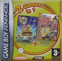 2 Games In 1: The SpongeBob SquarePants Movie / SpongeBob SquarePants and Friends in Freeze Frame Frenzy Box Art