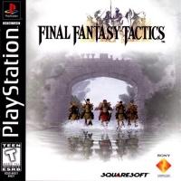 Final Fantasy Tactics Box Art