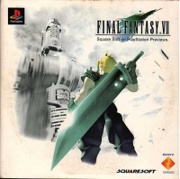 Final Fantasy VII - Interactive Sampler Demo CD Box Art