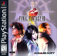 Final Fantasy VIII Box Art
