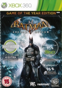 Batman: Arkham Asylum - Game of the Year Edition [UK] Box Art