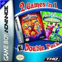 2 Games in 1 Double Pack: Power Rangers: Ninja Storm / Power Rangers: Time Force Box Art
