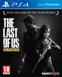 Last of Us, The: Remastered [UK] Box Art