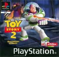 Toy Story 2: Buzz Lightyear to the Rescue Box Art