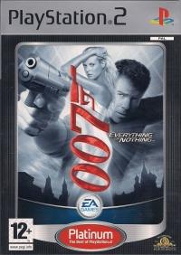 007: Everything or Nothing - Platinum Box Art