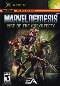 Marvel Nemesis: Rise of the Imperfects Box Art