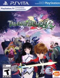 Tales of Hearts R Box Art