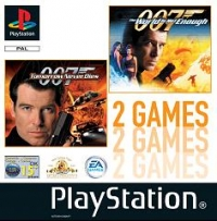 007: Tomorrow Never Dies / 007: The World Is Not Enough Box Art
