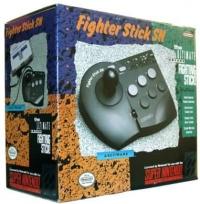 Asciiware Fighter Stick SN Box Art