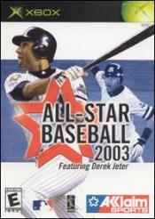 All-Star Baseball 2003 Box Art
