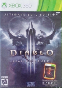 Diablo III: Reaper of Souls - Ultimate Evil Edition Box Art