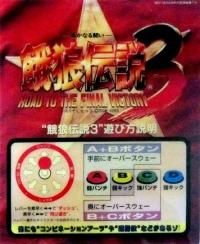 Garou Densetsu 3: Road to the Final Victory Box Art
