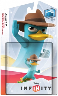 Agent P - Disney Infinity Figure [NA] Box Art