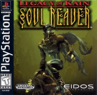 Legacy of Kain: Soul Reaver Box Art