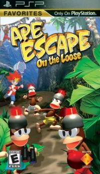 Ape Escape: On The Loose - Favorites Box Art