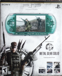 Sony PlayStation Portable - Limited Edition Metal Gear Solid: Peace Walker Entertainment Pack [NA] Box Art