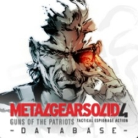 Metal Gear Solid 4 Database Box Art