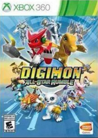 Digimon: All-Star Rumble Box Art