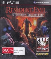 Resident Evil: Operation Racoon City Box Art