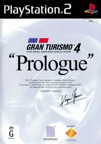 Gran Turismo 4 Prologue Box Art