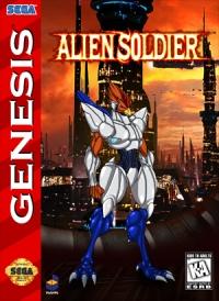 Alien Soldier Box Art