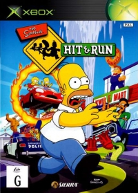 Simpsons, The: Hit & Run Box Art
