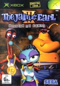 ToeJam & Earl III: Mission to Earth Box Art