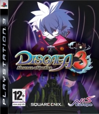 Disgaea 3: Absence of Justice Box Art
