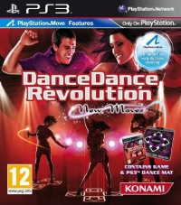 DanceDanceRevolution: New Moves (Contains Game & PS3 Dance Mat) [EU] Box Art