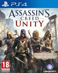 Assassin's Creed Unity - Special Edition Box Art