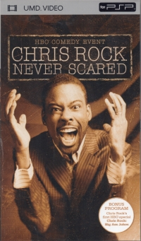 Chris Rock: Never Scared Box Art