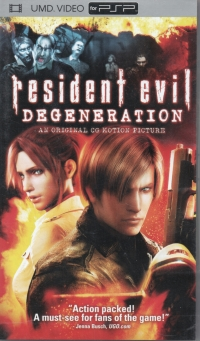 Resident Evil: Degeneration Box Art