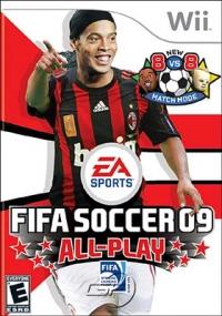 FIFA Soccer 09 All-Play Box Art
