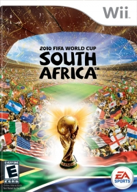 2010 FIFA World Cup South Africa Box Art