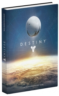 Destiny Limited Edition Strategy Guide Box Art