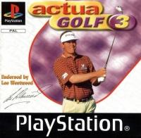 Actua Golf 3 Box Art