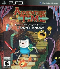 Adventure Time: Explore the Dungeon Because I DON'T KNOW! [CA] Box Art