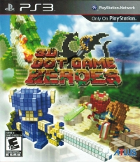 3D Dot Game Heroes [CA] Box Art