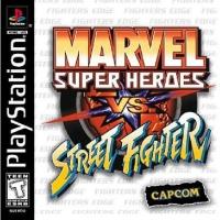 Marvel Super Heroes vs. Street Fighter Box Art