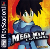 Mega Man Legends Box Art