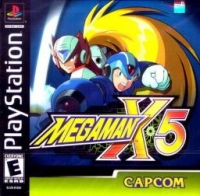 Mega Man X5 Box Art