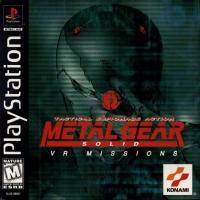 Metal Gear Solid: VR Missions Box Art