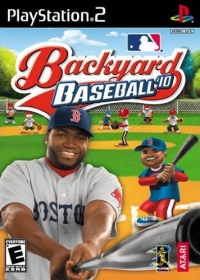 Backyard Baseball '10 Box Art