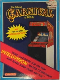 Carnival (Not For Use on Intellivision II) Box Art