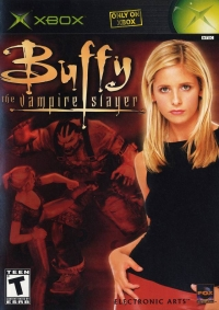 Buffy the Vampire Slayer Box Art