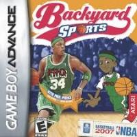 Backyard Sports Basketball 2007 Box Art