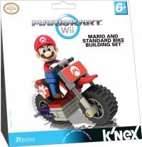 K'NEX Mario Kart Wii - Mario and Standard Bike Building Set Box Art