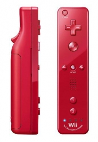 Nintendo Wii Remote Plus - Red Box Art